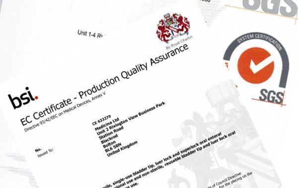 ISO & QA Certificates