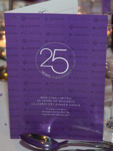 Medicina 25th Anniversary Dinner